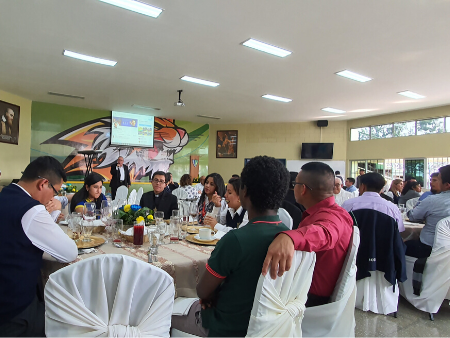 Almuerzo por la Solemnidad de San Juan Bosco (Colegio Salesiano Don Bosco Guatemala)